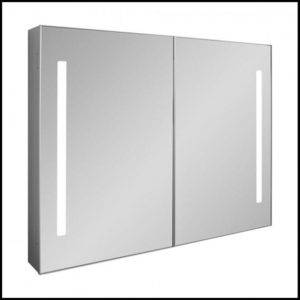 Allure 900 Mirrored Cabinet