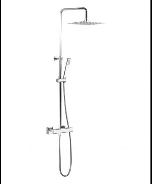 Atoll square multifunction thermostatic