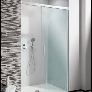Design Soft Close Single Slider Shower Door