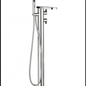 Wisp thermostatic bath shower mixer with kit